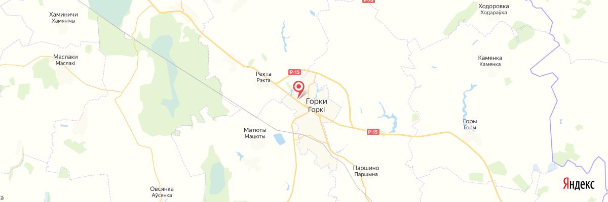 карта Горки