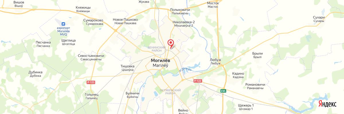 карта Могилёв