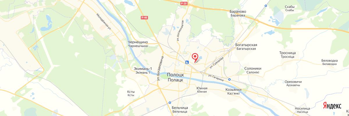 карта полоцк